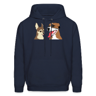 Hoodies ~ Men's Hoodie ~ Izzy and Arri (NEW!)