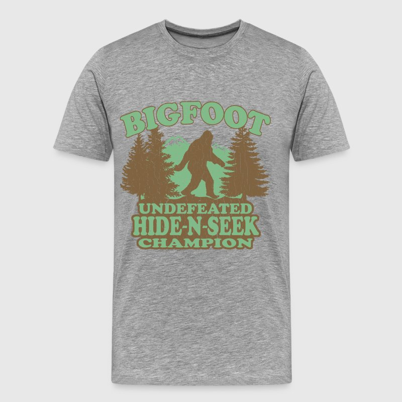 BIGFOOT Funny Vintage - Men's Premium T-Shirt
