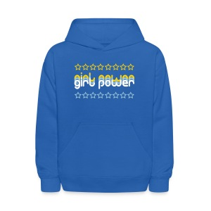 Girl Power Kid's Hooded Sweatshirt - Kids' Hoodie