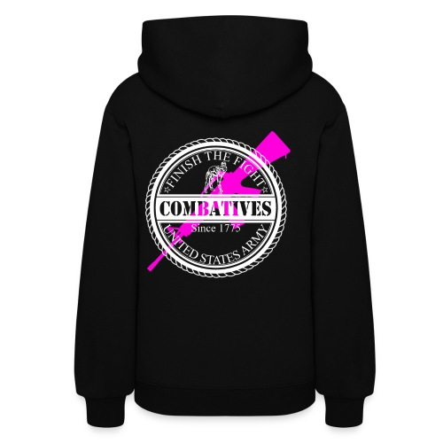 Ladies - Army - Finish the fight - Women's Hoodie