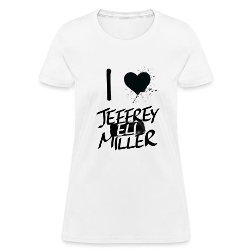 JEM White / Black girl Tee's - Women's T-Shirt
