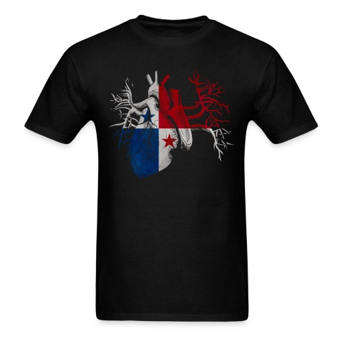 Panama Es Mi Corazon - Men's T-Shirt