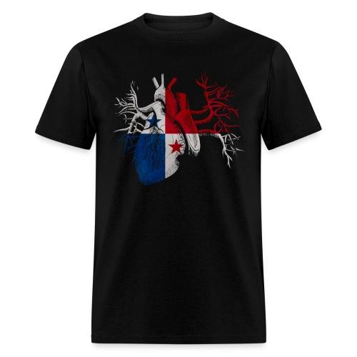 Panama Es Mi Corazon - Men's T-Shirt