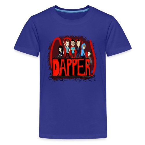 The Dapper Crew - Kid's - Kids' Premium T-Shirt