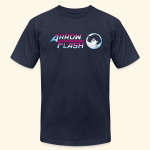 ArrowFlash (free shirtcolor selection) - Men's T-Shirt by American Apparel