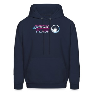 ArrowFlash (free shirtcolor selection) - Men's Hoodie