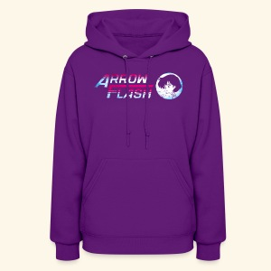 ArrowFlash (free shirtcolor selection) - Women's Hoodie