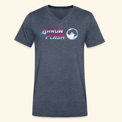 ArrowFlash (free shirtcolor selection) - Men's V-Neck T-Shirt by Canvas