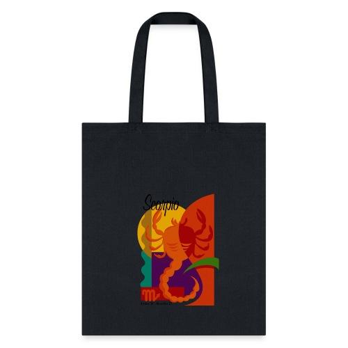 Scorpio Sign Canvas Tote Bag - Tote Bag