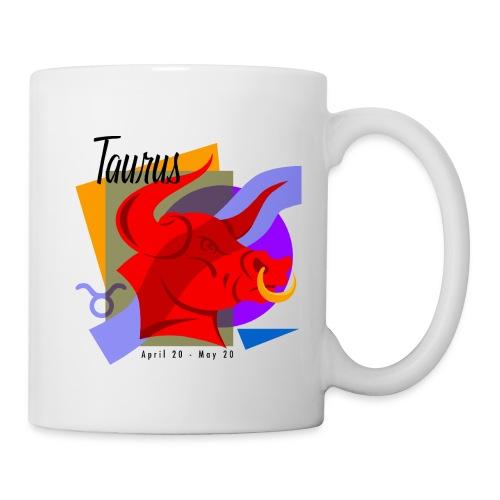 Taurus Sign Ceramic Coffee Mug - Coffee/Tea Mug