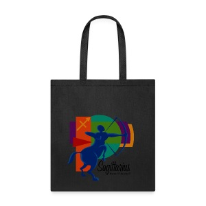 Sagittarius Sign Cotton Canvas Tote Bag - Tote Bag