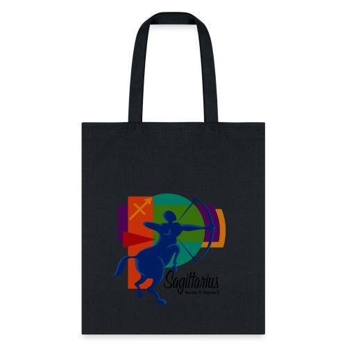 Sagittarius Sign Cotton Canvas Tote Bag - Tote Bag