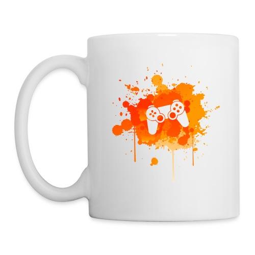 Immersive Minds Orange Splat Mug - Coffee/Tea Mug