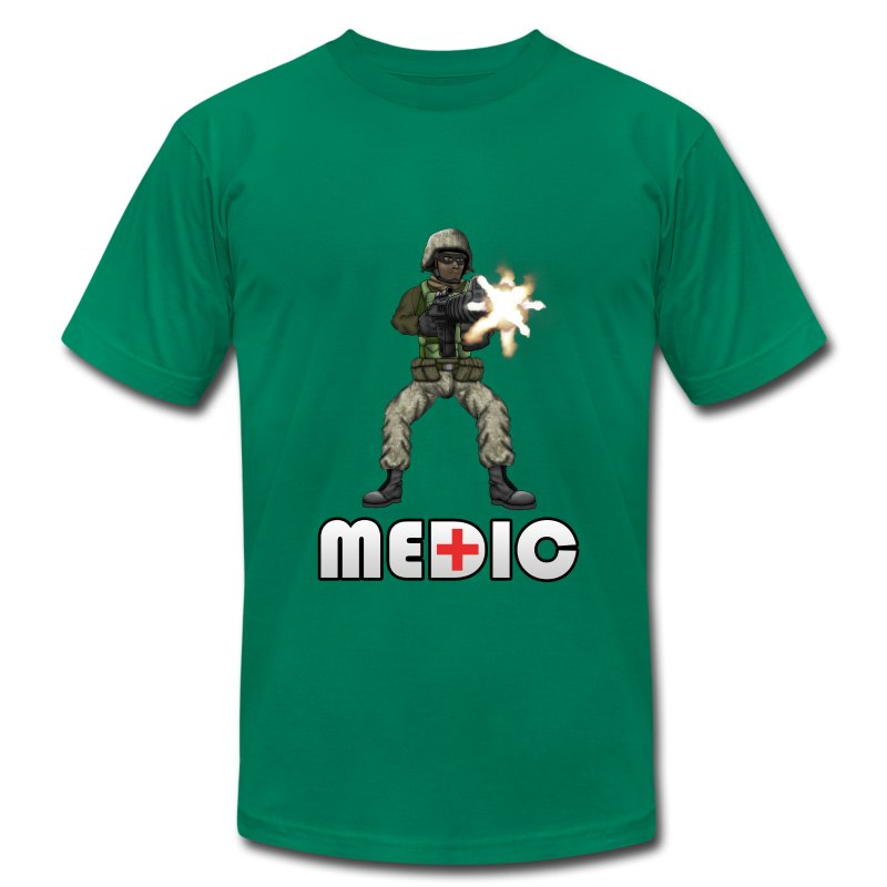 BFFs - Medic  - Men's T-Shirt by American Apparel