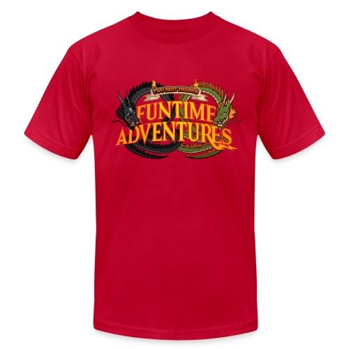 Two Best Friends Funtime Adventures  - Men's  Jersey T-Shirt