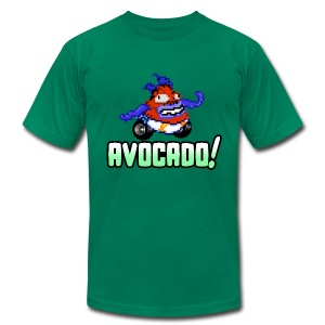 Soniqua - AVOCADO! - Men's T-Shirt by American Apparel