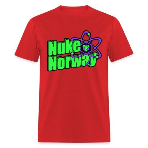 NukeNorway Logo - Men's T-Shirt