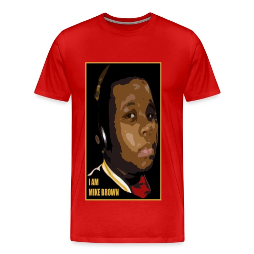 I AM MIKE BROWN - Men's Premium T-Shirt