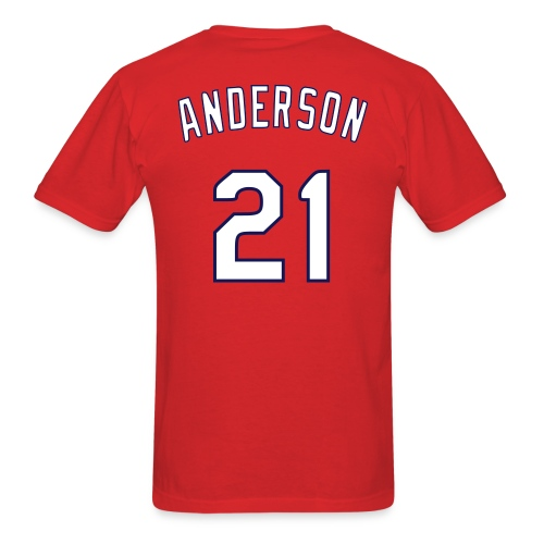 Anderson BBQers Shirsey - Men's T-Shirt