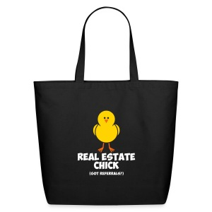 Real Estate Chick Cotton Tote - Eco-Friendly Cotton Tote