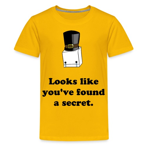 Looks like you've found a secret. - Kids' Premium T-Shirt
