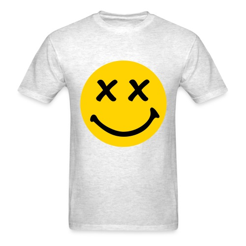 X EYES SMILEY - Men's T-Shirt