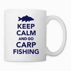 Keep calm and Carp Fishing Bottles & Mugs