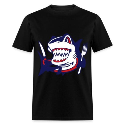 Hungry Shark - Men's T-Shirt