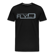 T-Shirts ~ Men's Premium T-Shirt ~ Powered By Fly Halo - Red