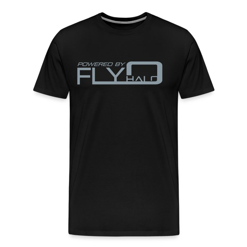 Powered By Fly Halo - Red - Men's Premium T-Shirt