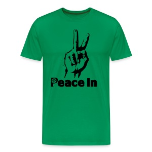Peace In Tee - Men's Premium T-Shirt