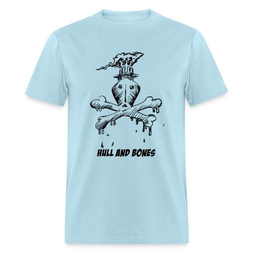 Hull and Bones - Men's T-Shirt