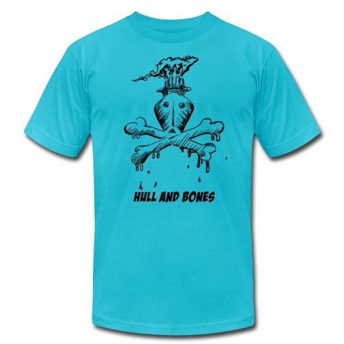 Hull and Bones (American Apparel) - Men's  Jersey T-Shirt