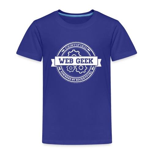 Web Geek Toddler Premium T-Shirt - Toddler Premium T-Shirt