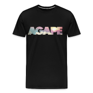 T-Shirts ~ Men's Premium T-Shirt ~ AGAPE (Clouds) shirt