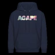 Hoodies ~ Men's Hoodie ~ AGAPE (Clouds) hoodie