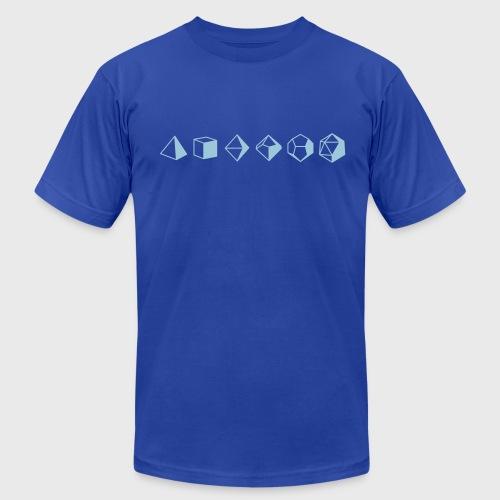 Dice Evolution - d20 Dungeons & Dragons - Men's Jersey T-Shirt