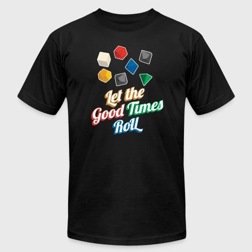 Nerd Let The Good Times Roll Dice - Men's Fine Jersey T-Shirt