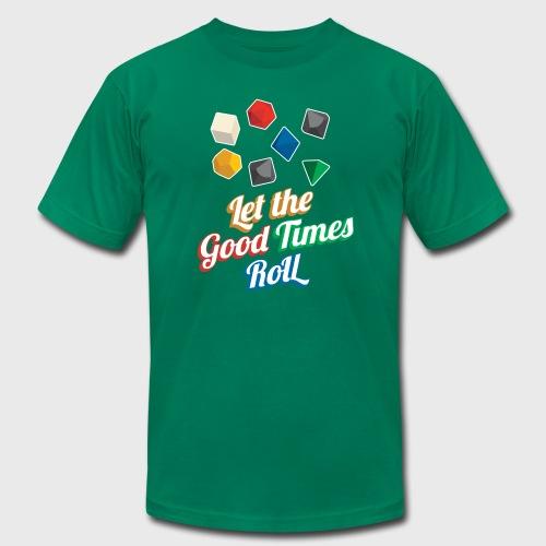 Nerd Let The Good Times Roll Dice - Men's  Jersey T-Shirt