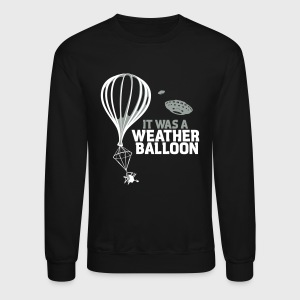 Weather Balloon UFO Aliens - Crewneck Sweatshirt