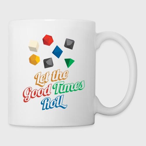 Nerd Let The Good Times Roll Dice - Coffee/Tea Mug