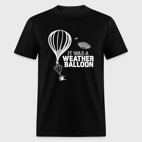Weather Balloon UFO Aliens - Men's T-Shirt
