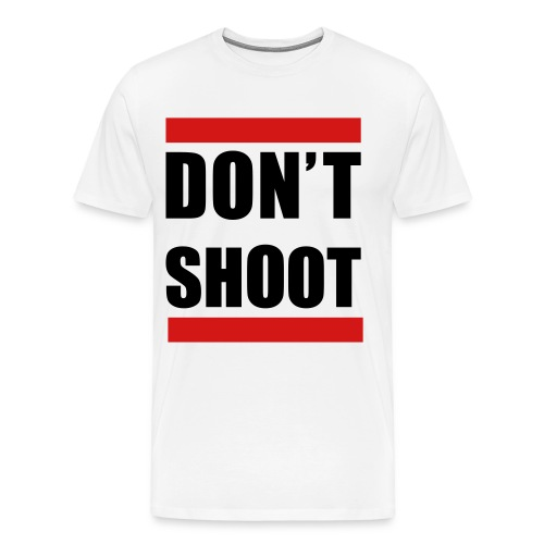 Dont Shoot. Stop the Violence - Men's Premium T-Shirt