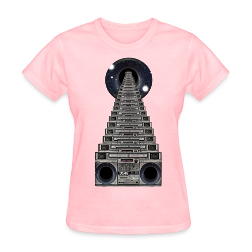 Infinite Boomboxes (for the ladies) - Women's T-Shirt