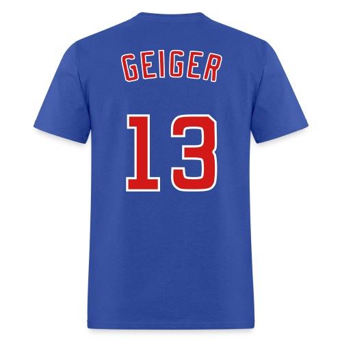 Geiger BBQers Shirsey - Men's T-Shirt