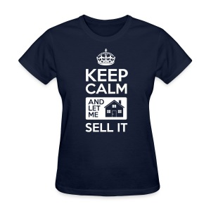 Keep Calm Sell It Slim Fit - Women's T-Shirt