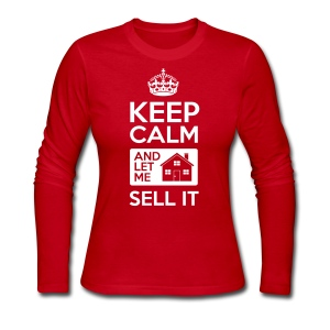 Keep Calm Sell It Long - Women's Long Sleeve Jersey T-Shirt