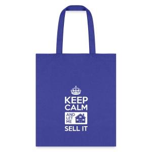 Keep Calm Sell It Tote Bag - Tote Bag