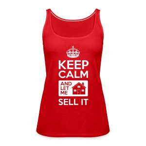 Keep Calm Sell It Premium - Women's Premium Tank Top