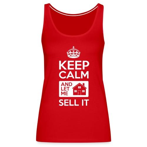 Keep Calm Sell It Premium - Women's Premium Tank Top